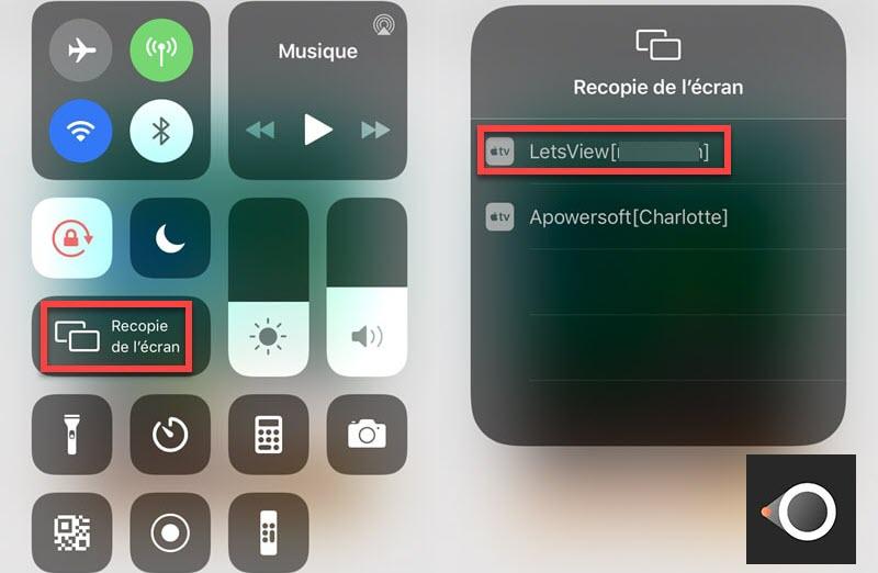 letsview 4 - LetsView : diffuser l'écran d'un iPhone sur un PC gratuitement