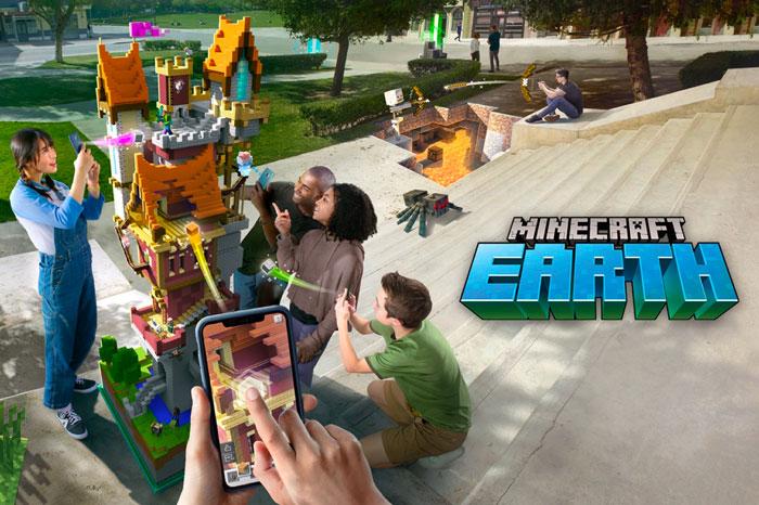 App Store : Minecraft en réalité augmentée débarque en France !