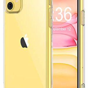 Bovon Coque pou 300x300 - ESR Coque pour iPhone 11, Bumper Housse Etui de Protection Transparent en Silicone TPU Souple [Ultra Fin] [Ultra Léger] pour iPhone 11 (2019) 6,1 Pouces (Série Jelly, Transparent)