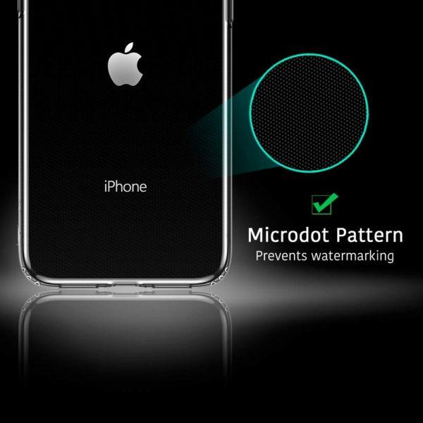 ESR Coque pour  3 - ESR Coque pour iPhone 11, Bumper Housse Etui de Protection Transparent en Silicone TPU Souple [Ultra Fin] [Ultra Léger] pour iPhone 11 (2019) 6,1 Pouces (Série Jelly, Transparent)