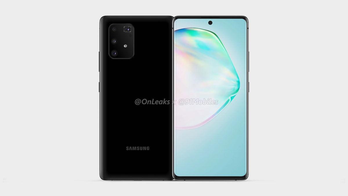GALAXY A91 V2 5K1 - Galaxy S10 Lite et Note 10 Lite : les premières images ont fuité !