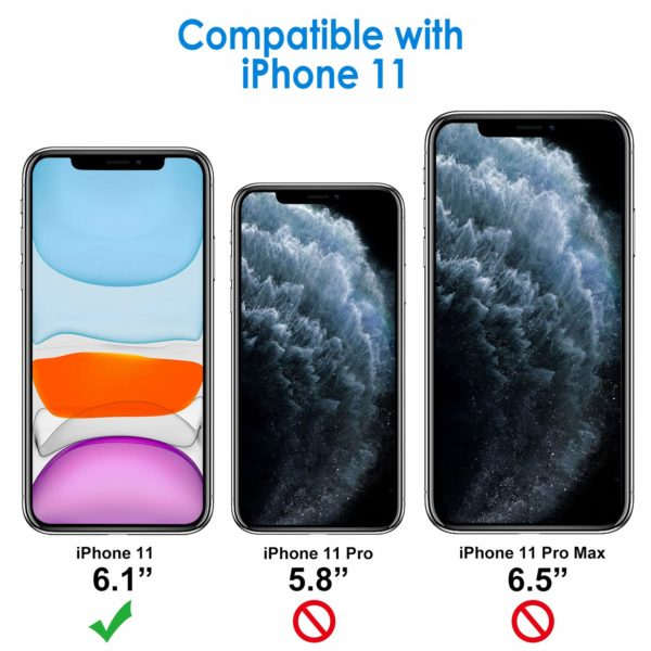 JETech Coque Co 0 - JETech Coque Compatible avec Apple iPhone 11 (2019) 6,1