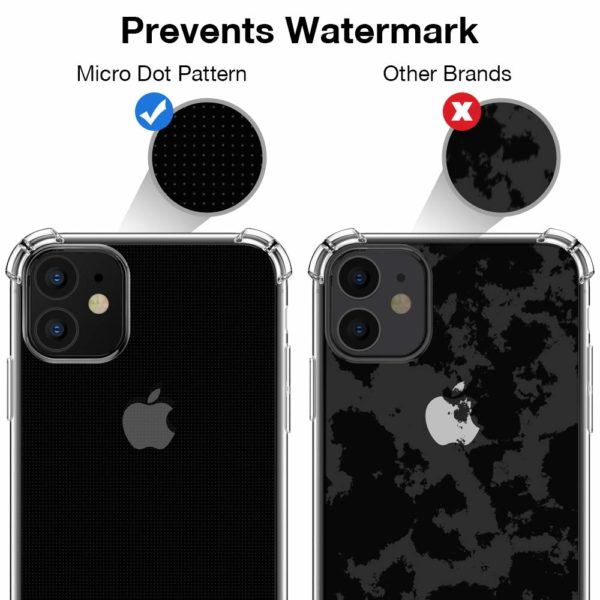 Joyguard Coque  2 - Joyguard Coque iPhone 11 2019 [2 × Verre trempé Protection écran], iPhone 11 Coque Souple TPU Silicone [Shock-Absorption] AIR Cushion Protection Coin Housse iPhone 11-6.1pouces - Transparent