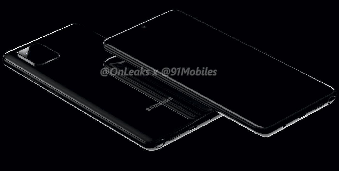 Rendu Galaxy Note 10 Lite - Galaxy S10 Lite et Note 10 Lite : les premières images ont fuité !