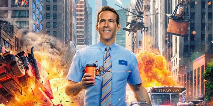 Le film Free Guy : Ryan Reynolds dans la peau d'un PNJ de jeu vidéo