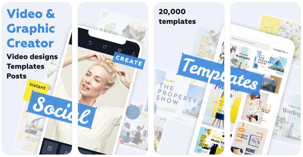crello app - Crello : l'app pour devenir un pro du design !