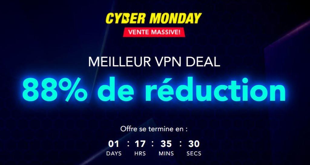 cyber lundi 1020x545 - Cyber lundi 2019: PureVPN franchit les prix!