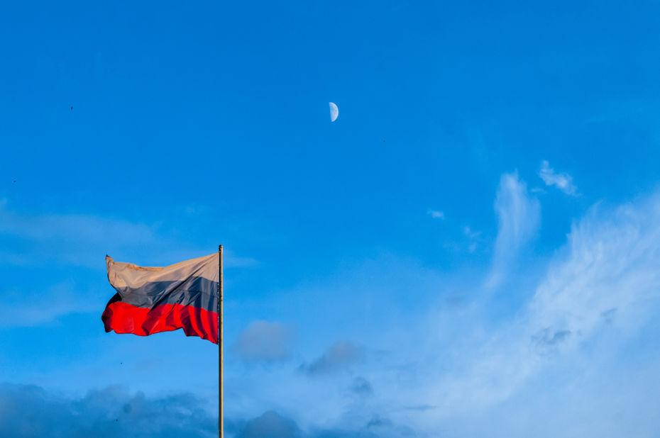 drapeau russe - Runet : l'internet russe prêt à être déployé