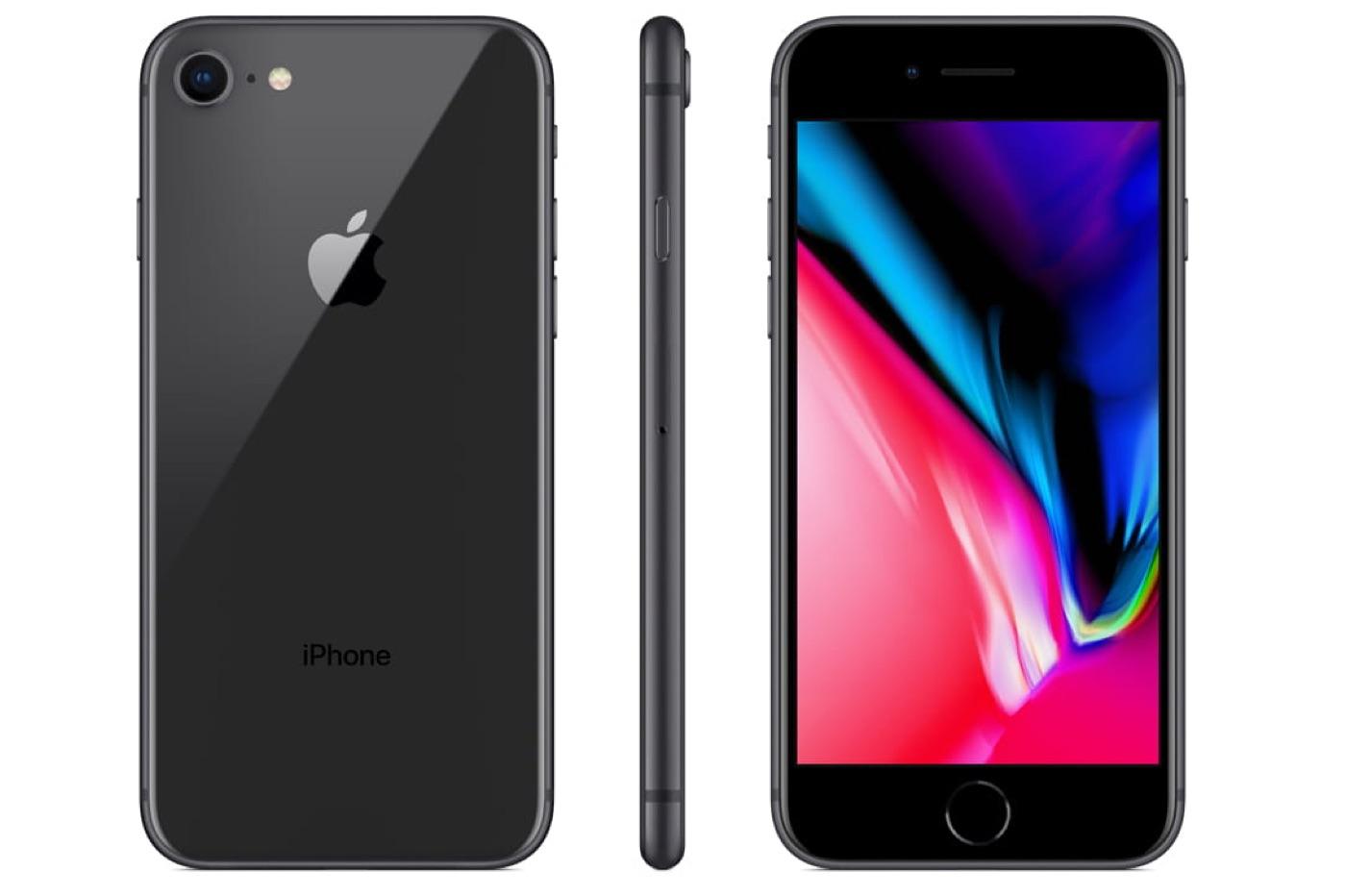 iphone 8 noir iphone se 2 - L'iPhone SE2 s'appellerait iPhone 9 et arriverait début 2020