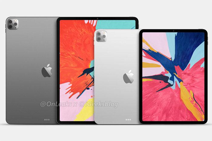 iPad Pro 2020 : un triple capteur photo en approche ?