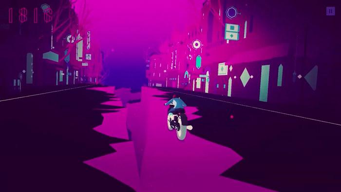 sayonara wild hearts ios screenshot road splitting - Les meilleurs jeux de 2019, selon Apple