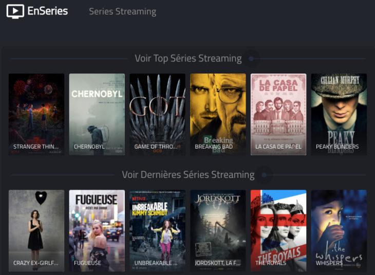EnSeries, EnStream, PapyStreaming : films & séries en streaming