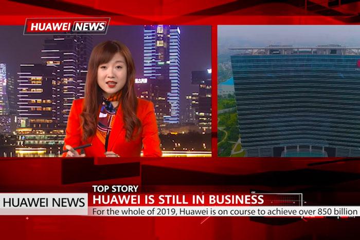 Huawei News Chaine - Huawei lance sa propre chaîne télévision... autocentrée
