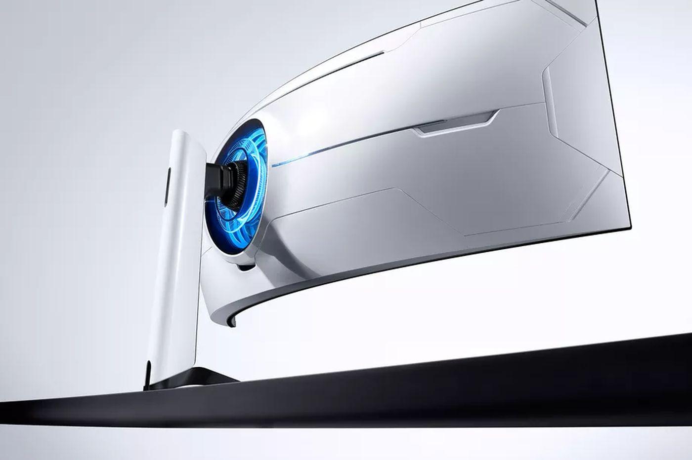 """Samsung dévoile le moniteur gaming """"le plus courbe du monde"""""""