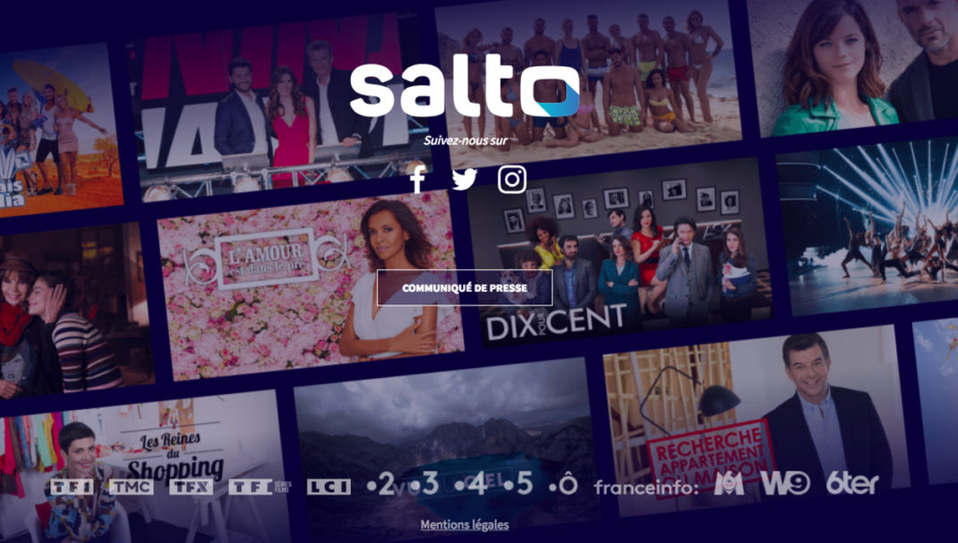 "Le ""Netflix français"" Salto officiellement disponible !"