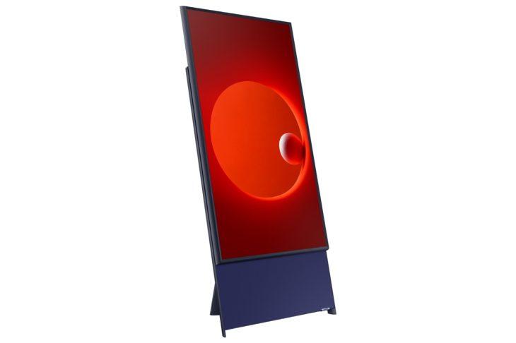 Cette TV Samsung pivote à la verticale pour diffuser des vidéos de smartphones