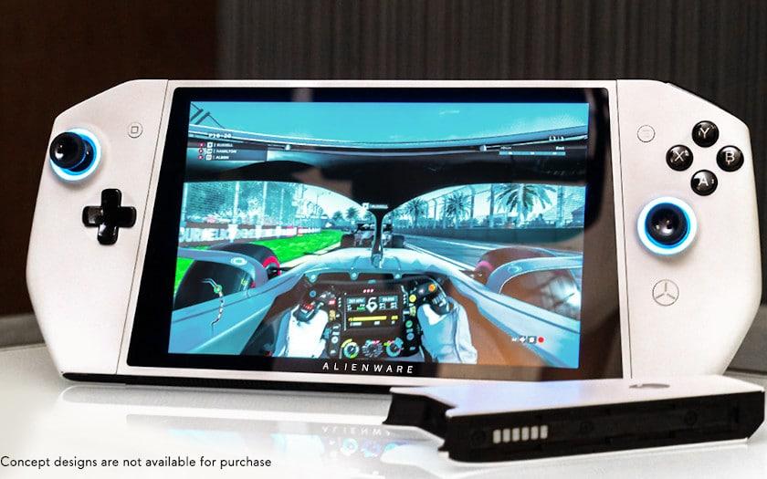 Alienware présente un PC portable gamer qui ressemble à la Switch