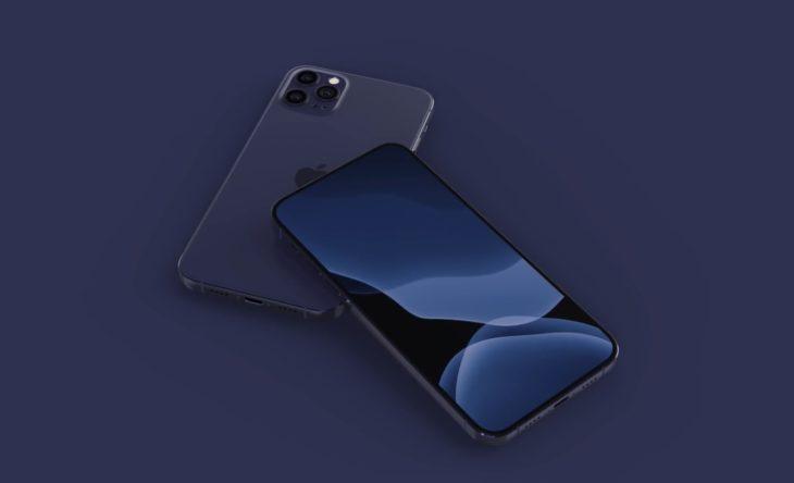 L'iPhone 12 pourrait être disponible en bleu marine