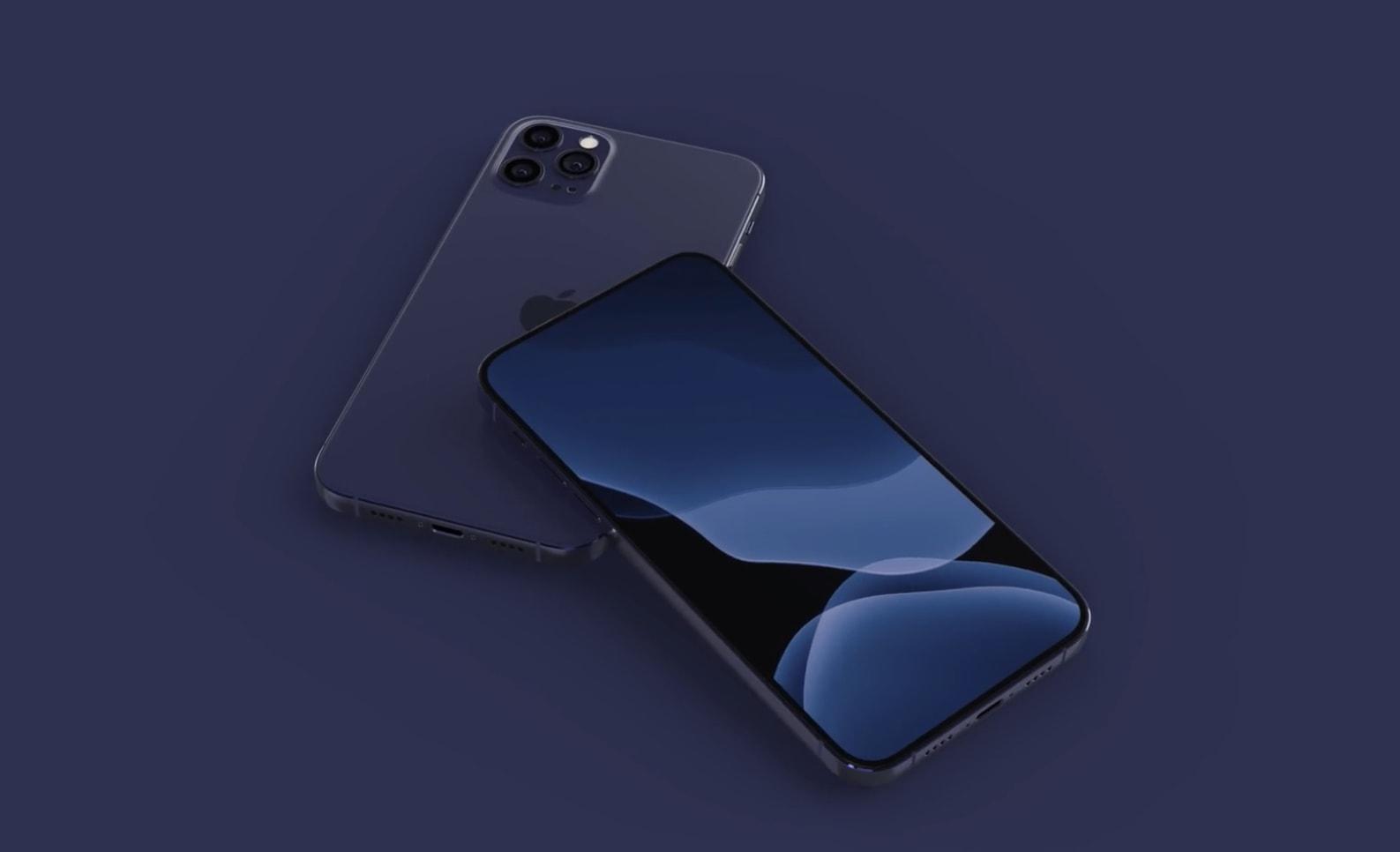 iphone bleu marin - L'iPhone 12 pourrait être disponible en bleu marine
