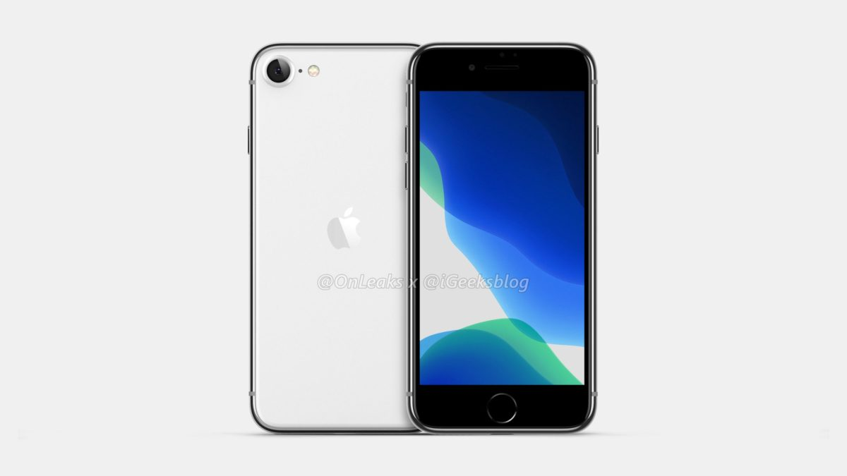 iphone se 2 fuite image rendus 2 - L'iPhone 9 se montre en concept 3D