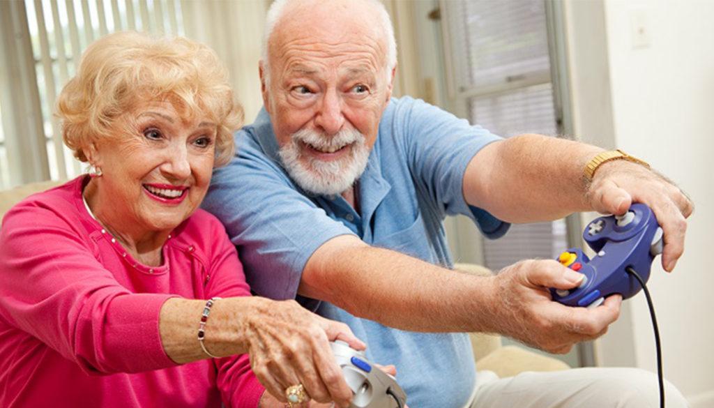 Les seniors jouent de plus en plus aux jeux vidéo