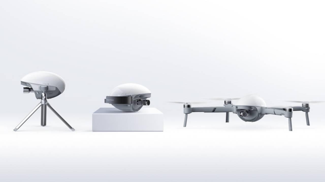 PowerEgg X : la caméra 4K qui se transforme en drone