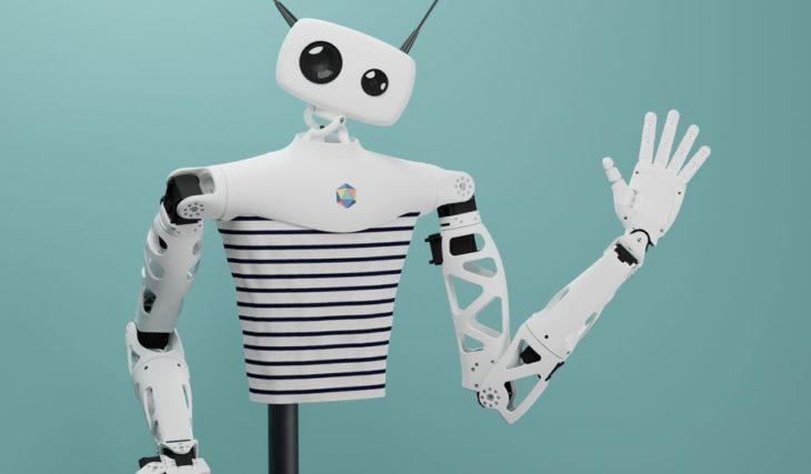 Au CES, le robot français Reachy attendrit tout le monde