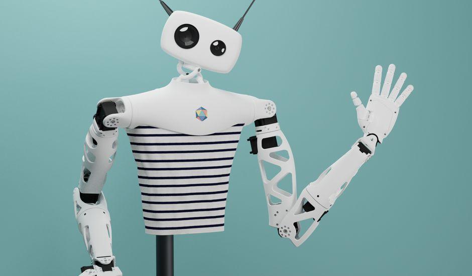 reachy - Au CES, le robot français Reachy attendrit tout le monde