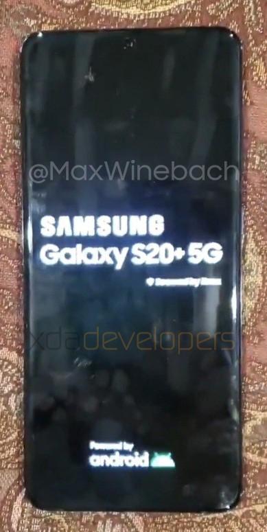 De nouvelles photos en fuite pour le Samsung Galaxy S20 (ou S11)