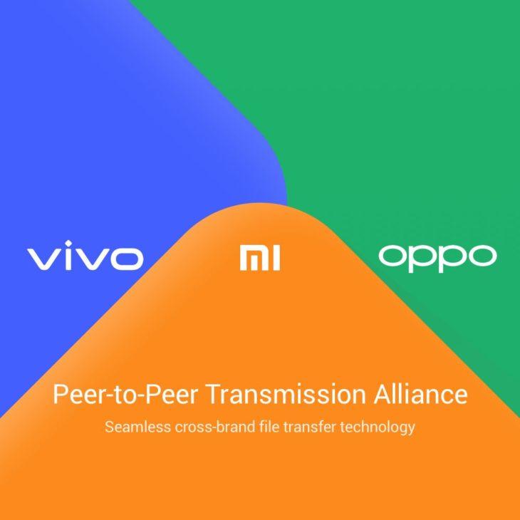Xiaomi, Oppo et Vivo lancent leur équivalent d'AirDrop
