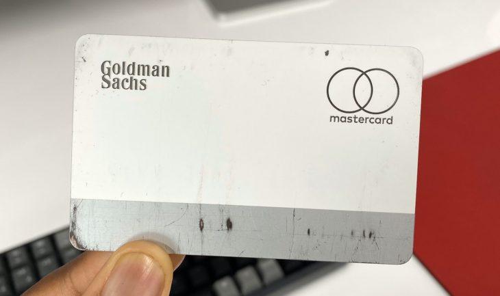 L'Apple Card se dégrade en seulement quelques mois d'utilisation