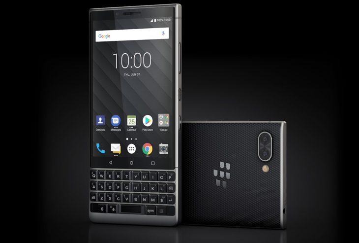 Les derniers téléphones BlackBerry sortiront en août 2020