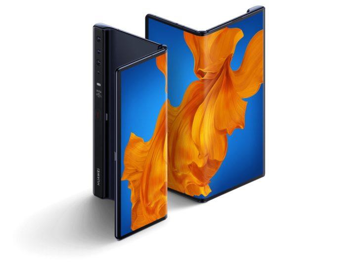 Le Mate Xs, nouveau smartphone pliable de Huawei à 2499 euros