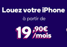 Mobile Club : la location d'iPhone dès 19,90€/mois !