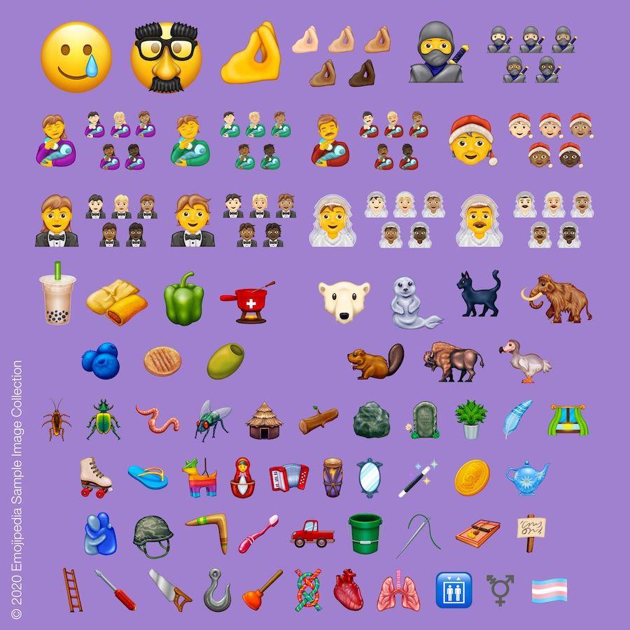 Voici les 117 nouveaux Emojis prévus sur iOS cette année