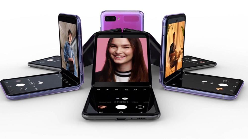 Samsung Galaxy Z Flip Officiel Semi Plie - Galaxy Z Flip : le smartphone pliable de Samsung enfin officiel