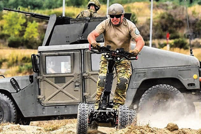 La trottinette électrique séduit même l'armée américaine
