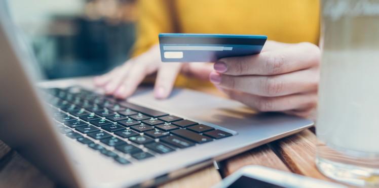 enregistrer sa carte bancaire sur un site internet c est risque - Achat sur Internet : les Français ont dépensé 100 milliards d'euros en un an !