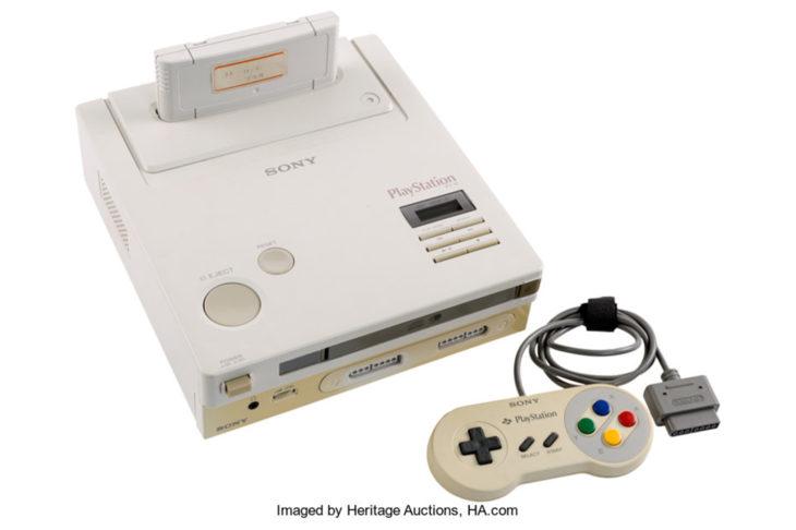 L'unique Nintendo Playstation au monde est aux enchères, et elle est déjà très chère