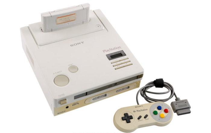 nintendo playstation e1581683553924 - L'unique Nintendo Playstation au monde est aux enchères, et elle est déjà très chère
