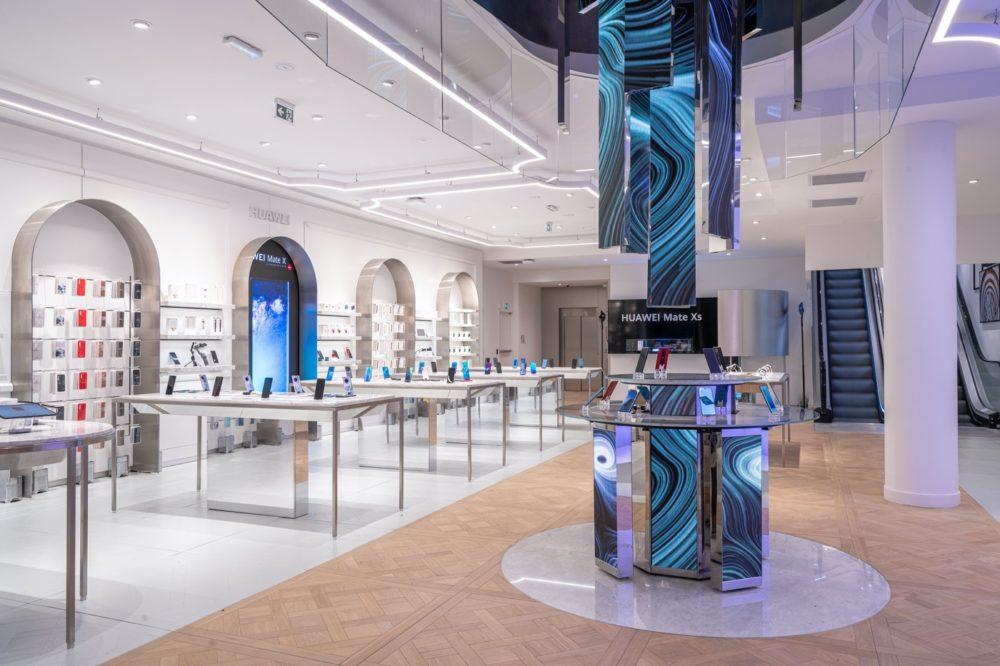 Huawei ouvre sa première boutique en France… à 850m seulement d'un Apple Store !