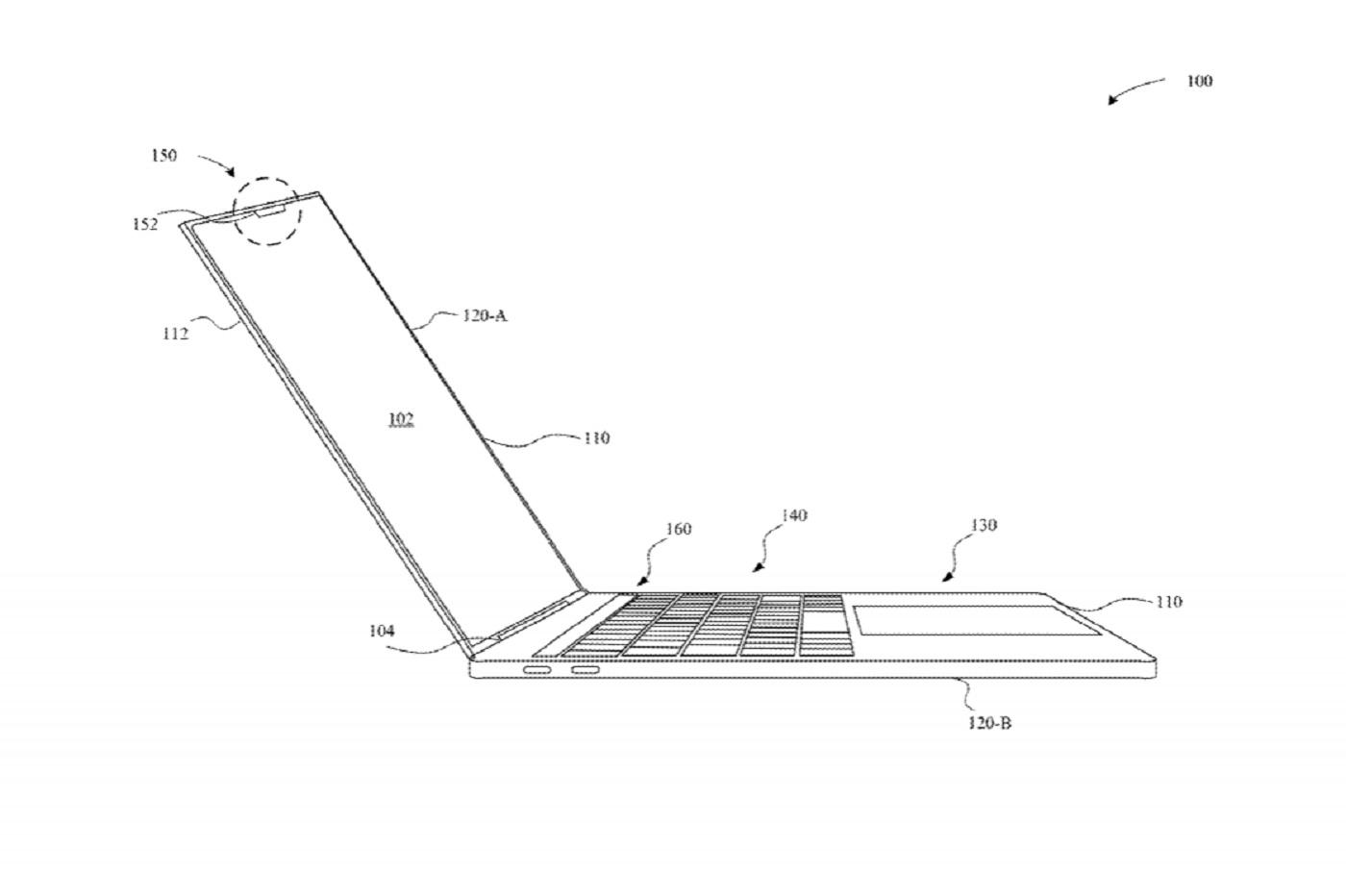 Brevet dApple - Apple pourrait lancer des Macbook avec encoche et Face ID