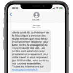 Coronavirus SMS Gouvernement 1 150x150 - Confinement : finalement, l'attestation de sortie n'est pas valable sur smartphone
