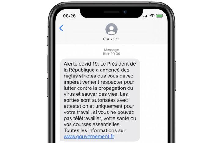 Confinement : comment le gouvernement a envoyé un SMS à tous les Français