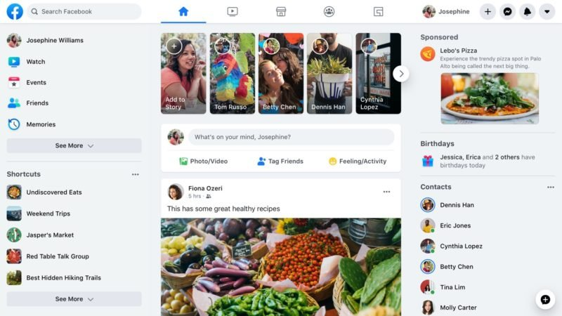 Facebook Nouveau Design Web 2020 e1584704945256 - Facebook : la nouvelle interface web disponible, voici comment l'activer