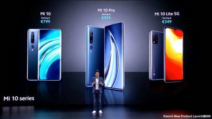 Xiaomi annonce le Mi 10 Lite et la date de sortie française des Mi 10 et 10 Pro