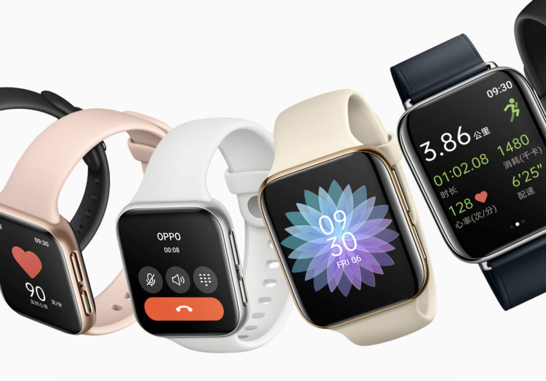 L'Oppo Watch, vulgaire clone de l'Apple Watch