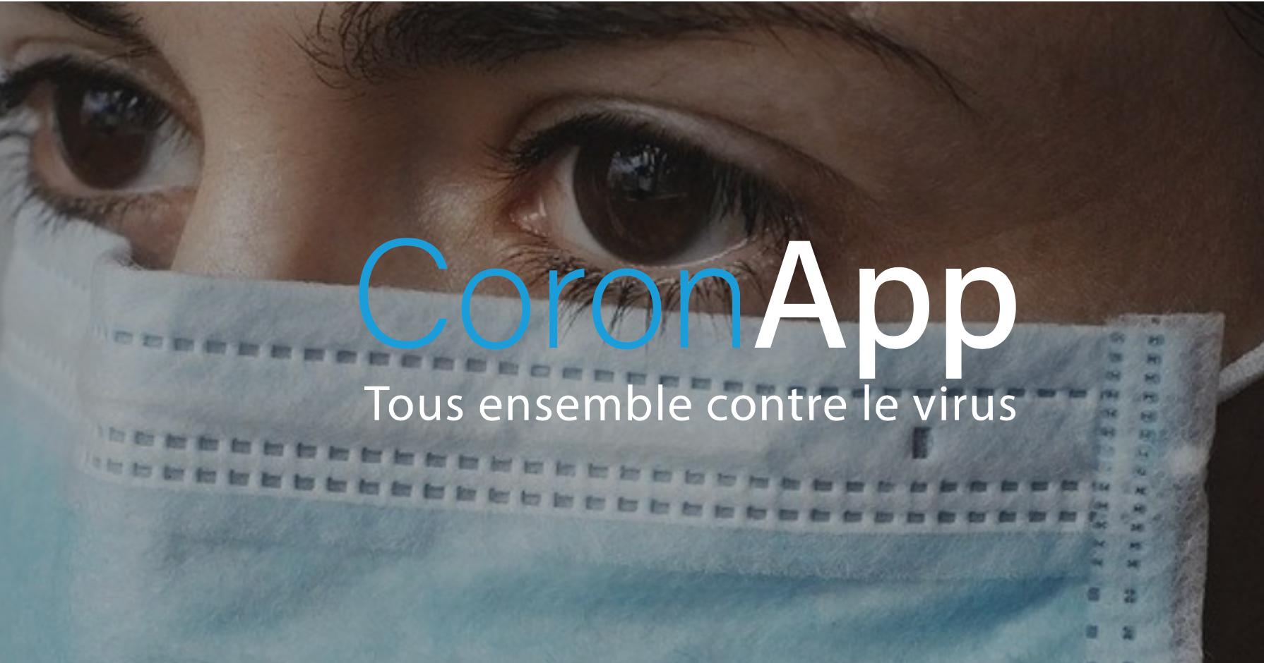 coronapp - CoronApp, l'application qui géolocalise les infectés