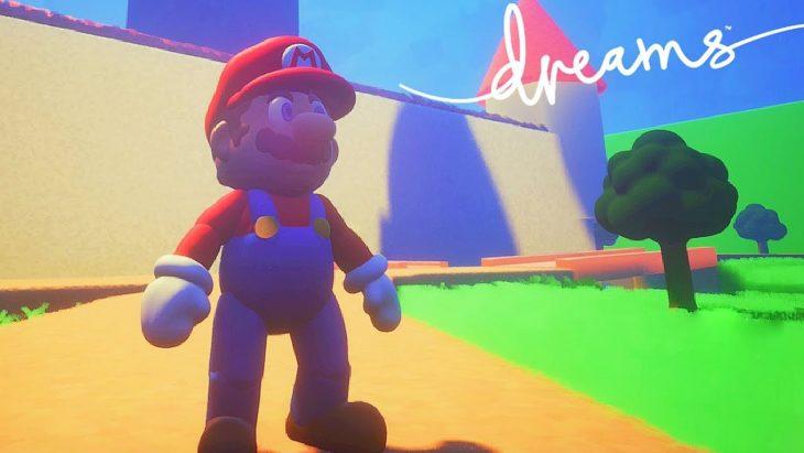 Nintendo fait retirer Mario du jeu PS4 Dreams