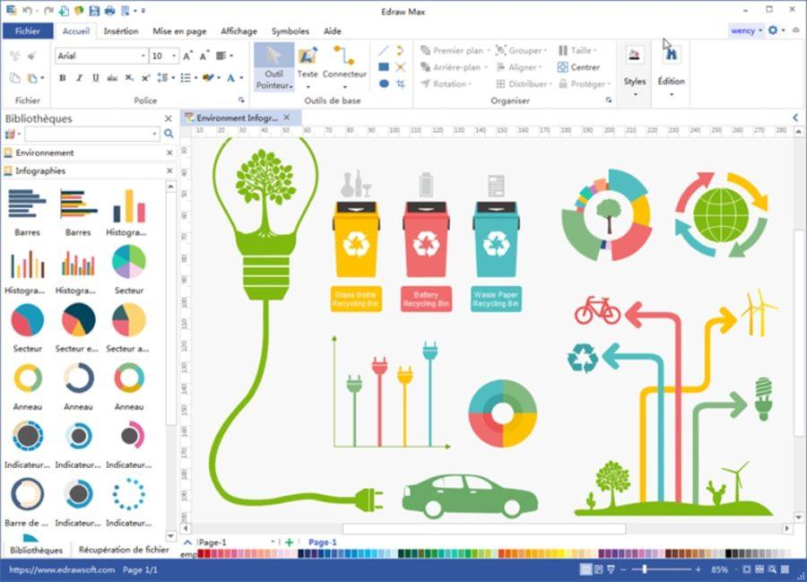 edraw max screenshot e1584627957170 - Edraw Max : le logiciel de diagrammes qui booste vos présentations